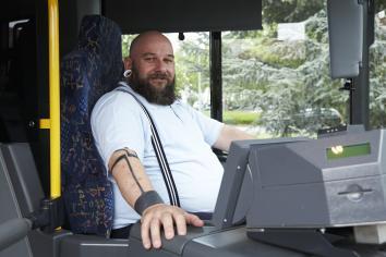 Dickes Fell Im Traumberuf Ein Wiesbadener Busfahrer Erzählt