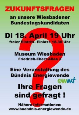 Zukunftsfragen An Wiesbadener Bundestagskandidaten Interaktive